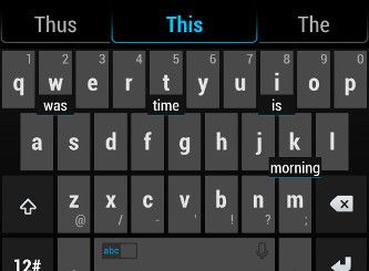 TouchPal X Keyboard (for Android)