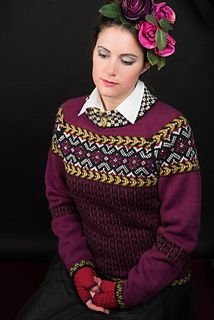 """""""Frida Kahlo"""" is a series of knitwear designs inspired by Frida Kahlo's paintings and colourful life."""