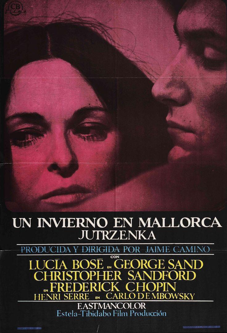 """""""Un invierno en Mallorca"""", Jaime Camino, 1969. Con Lucia Bosé, Christopher Sandford, Daria Esteva, Serena Vergano..."""