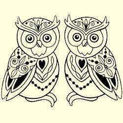Whimsical Owls Stamp Set
