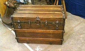 Lakewood 400 Antiques Market is a great place to find unique items and antiques.  I just picked this cool trunk up for only 200 dollars and I think that it will make a great coffee table in our cabin in Gatlinburg!