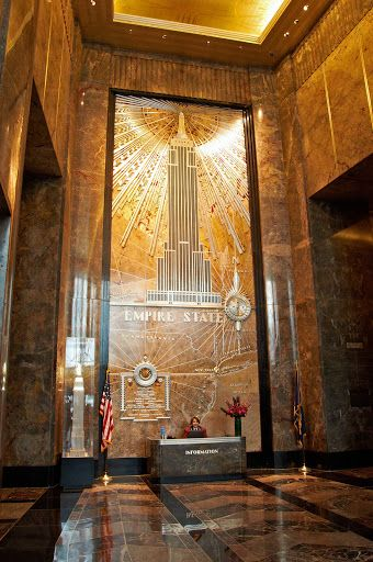 Empire State Building. New York, New York.