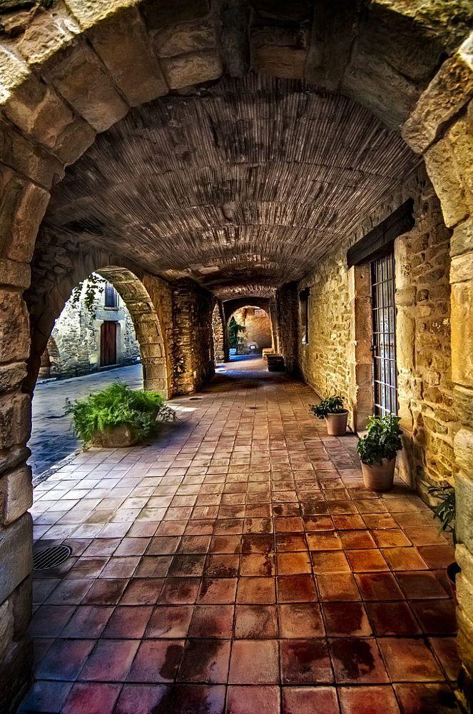 Monells, Girona Catalonia by Jose Luis Mieza
