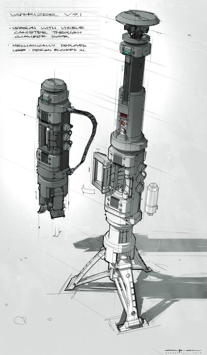 Concept Designs de George Hull para Amazing Spiderman
