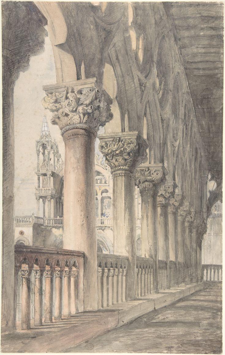 John Ruskin | Loggia of the Ducal Palace, Venice | The Metropolitan Museum of Art