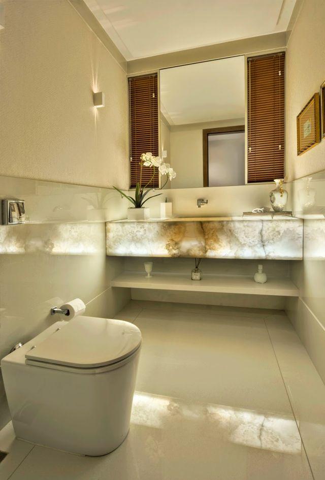Construindo Minha Casa Clean: Pedra Ônix Iluminada na Decoração Luxo! Veja Dicas…