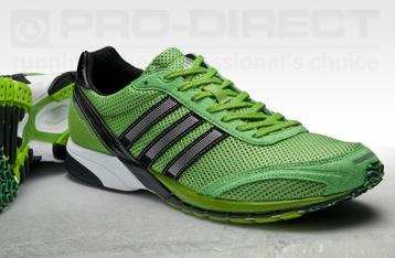 adidas adiZero Adios Shoes - Green/Black/Silver