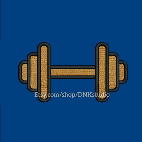 Weightlifting Barbell Embroidery Design  This design manually made by hand, from start to finish. It is a digitized embroidery design for a buyer who has an embroidery sewing machine.  https://www.etsy.com/listing/489713746/weightlifting-barbell-embroidery-design  #stitch #digitized #Sewing #Needlecraft #stitches #Embroidery #Applique #EmbroideryDesign #pattern #MachineEmbroidery #Weightlifting #Barbell #Weightlift #workout