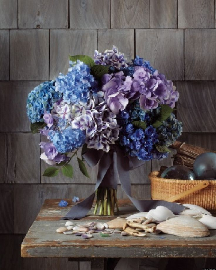 hydrangea wedding flowers 17 best ideas about blue flower arrangements on 5043