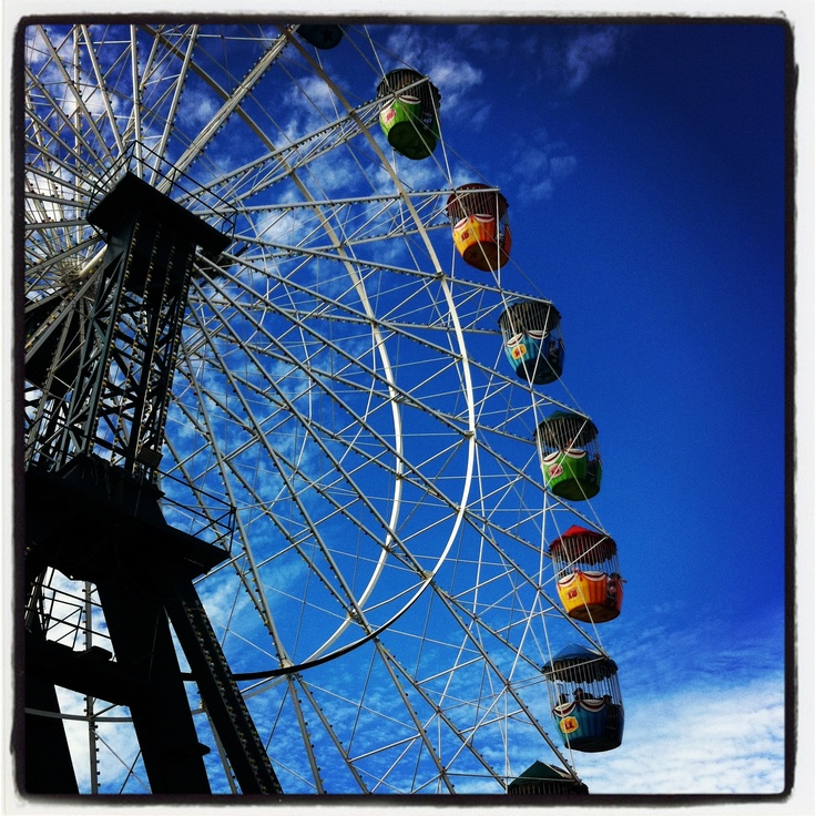 Ferris Wheel at the Sydney Royal Easter Show