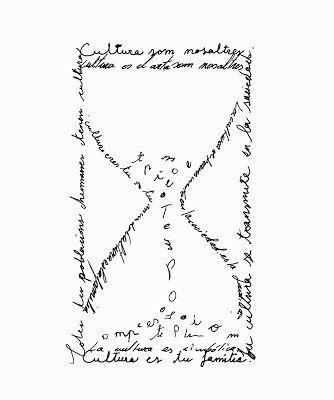 relol de letras, caligrama