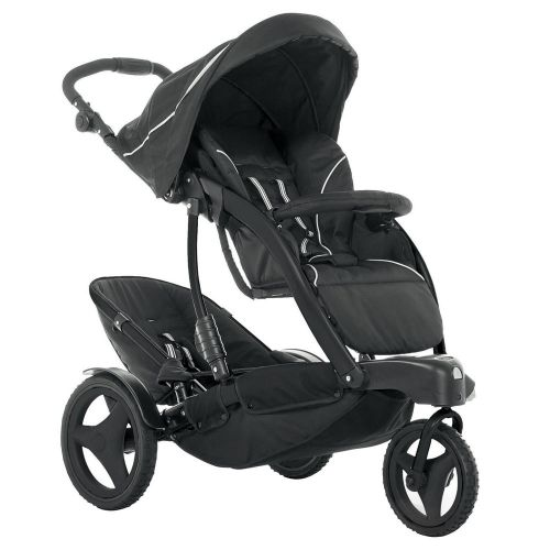 Cheaper than Phill and Teds at £129.99. From babies 'r' us (aka Toys 'r' us) It has really good reviews too! Graco Trekko Twin Pushchair.