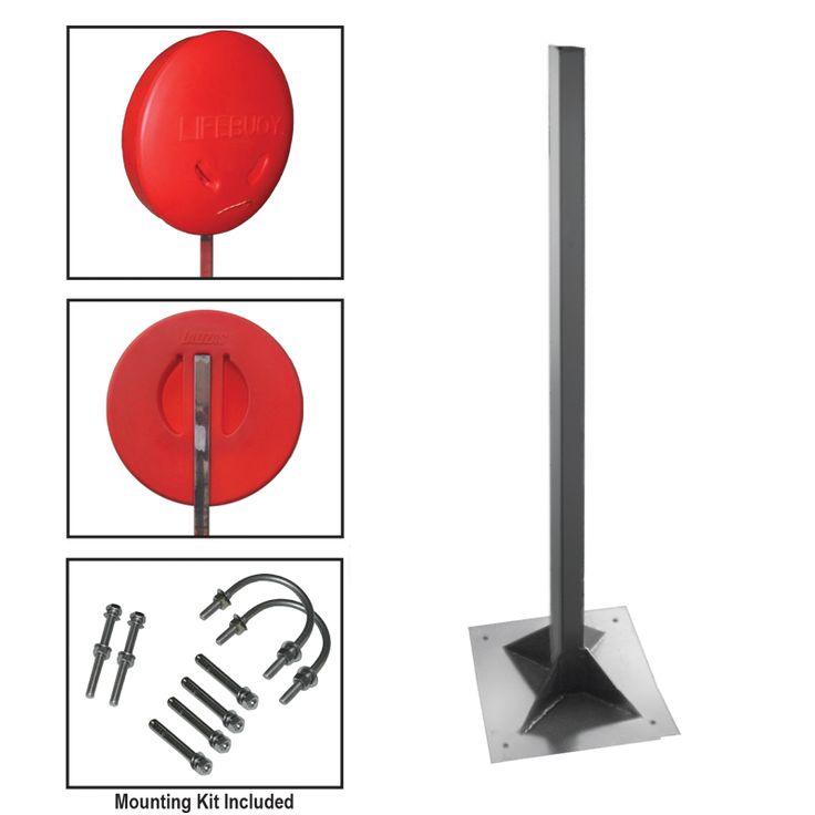 Deck Pole Base for Lifebuoy Ring Case image