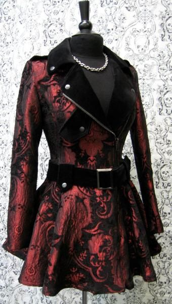 Brocade Steampunk Jacket - SHRINE of Hollywood Official Online Store