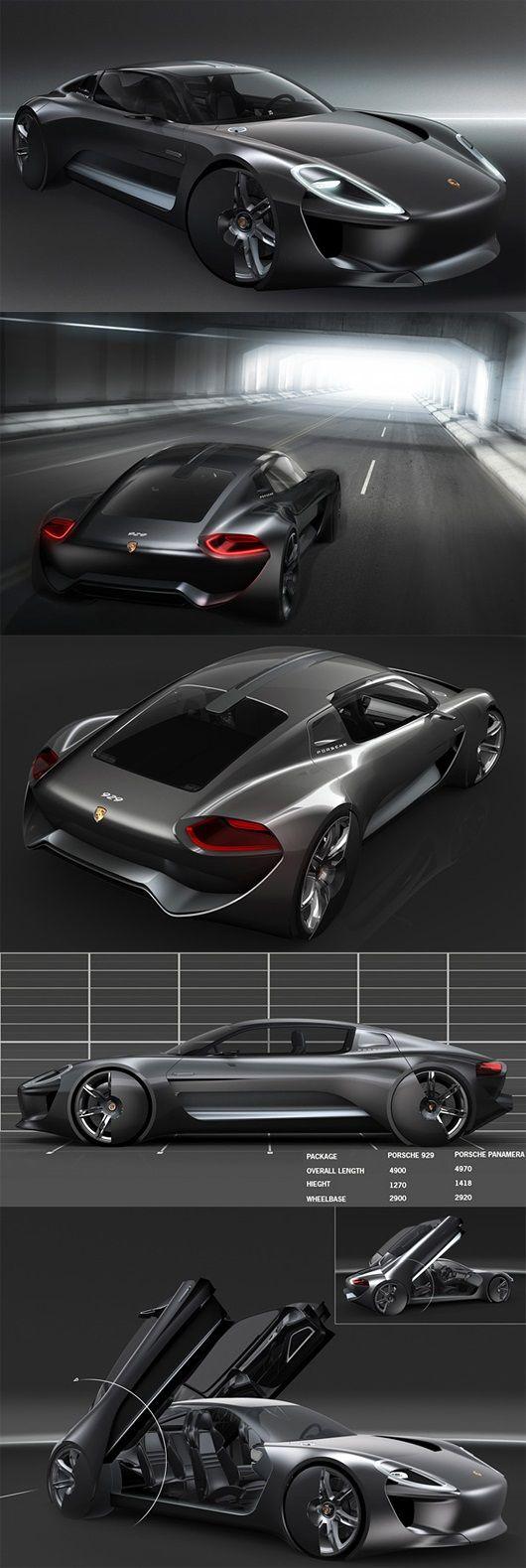 The Porsche 929 Concept by Julliana Cho