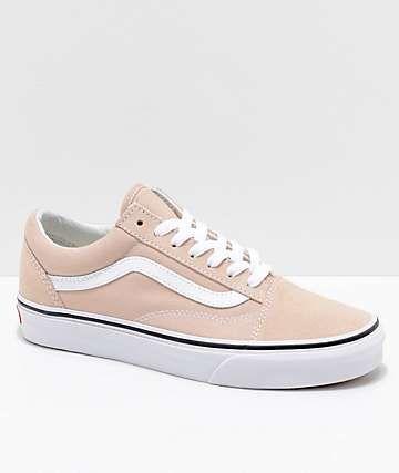 Vans Old Skool Frappe   True White Skate Shoes  d5b518ddd