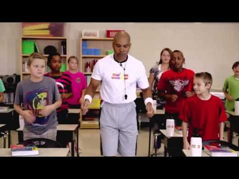 """Try this Move to Learn fitness video called """"Brain-ercize!"""" with your students! Doesn't it make you want to get up and move? #teachers #mississippi #fitness #classroom"""