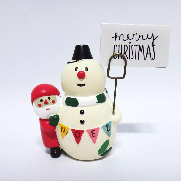 Concombre DECOLE Japan Cute Lovely Kawaii Figure Christmas Santa Snowman #ConcombrebyDECOLE