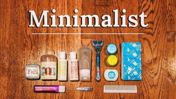 PACKING TOILETRIES Minimalist Essentials | BAGS & Pro DIY Tips ✈