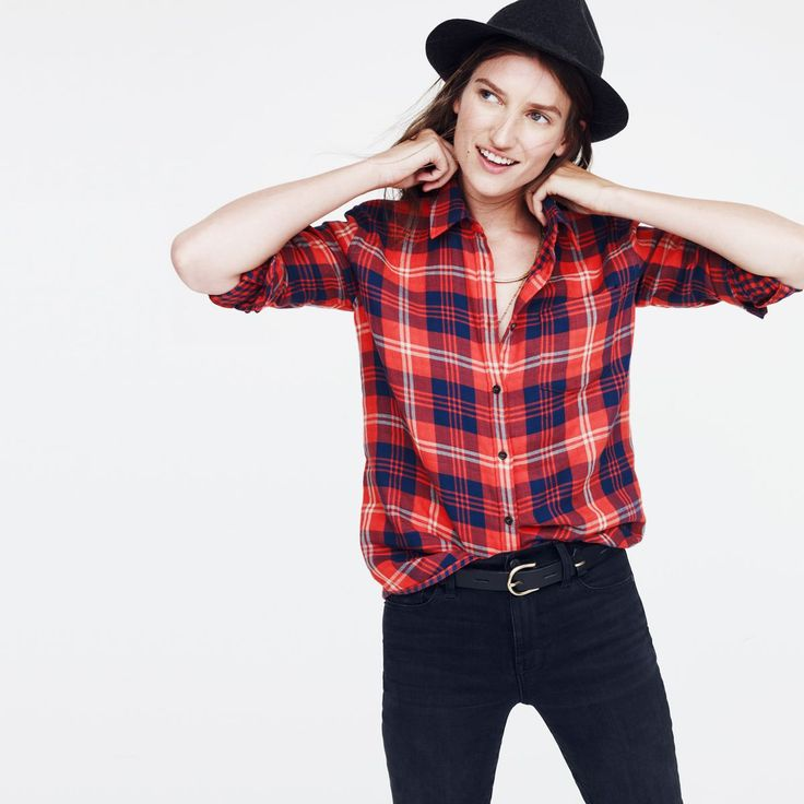 hint, hint — this Madewell flannel cargo workshirt in buffalo check is on my wishlist (+ winning a trip for two to Paris from Madewell). more info here: http://mwell.co/giftwellsweeps #giftwell #sweeps