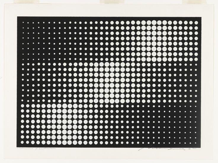 Almir Mavignier, Untitled, 1962, MoMA, New York