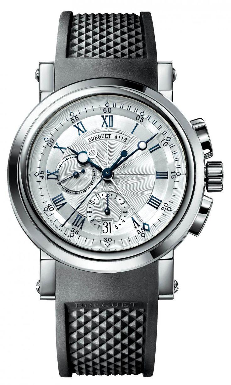 Breguet 5827BB/12/5ZU Marine Chronograph. #Breguet