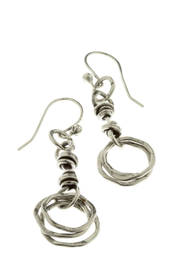 Coil and Circles Earring