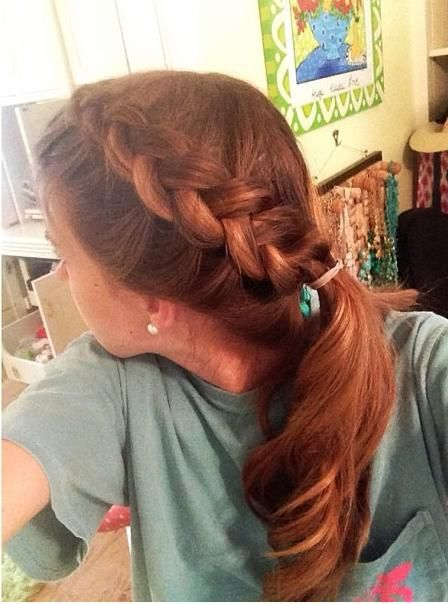 Swell 122 Best Images About Braided Side Ponytails On Pinterest Hairstyles For Women Draintrainus