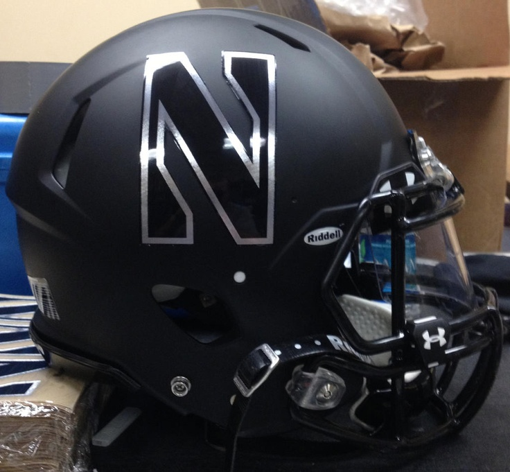 Northwestern Gator Bowl Helmets. i'm not football expert or anything like that...but if i played....these would be mine. it looks sick