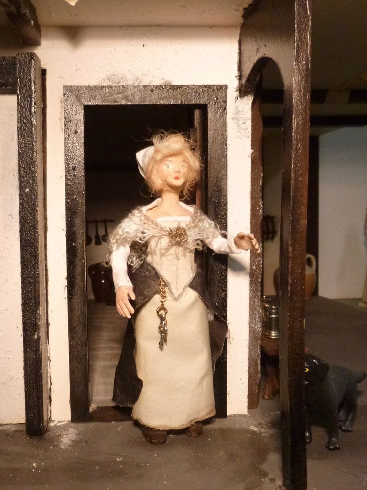 Handmade 1/12 scale dolls at Words and Pictures - visit to see the making-of…