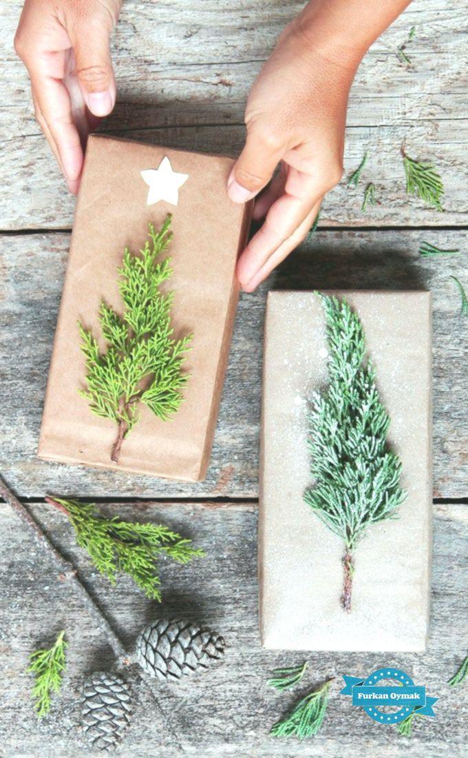 Kostenlose & wunderschöne DIY Weihnachtsgeschenkverpackung in 5 Minuten – ein Stück Regenbogen – Humor