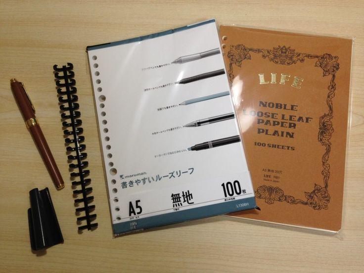 自作手帳を作る - nolder's diary