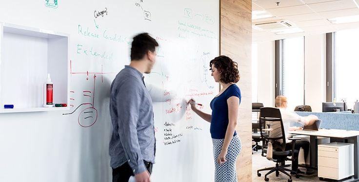 Popisovatelný nátěr do firem | Chytrá zeď