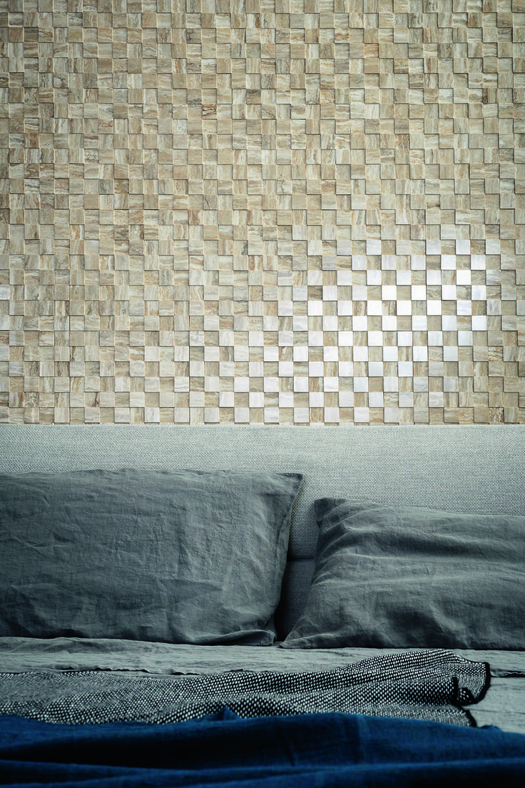 #Marazzi   #Allmarble   #porcelain   #tiles   #bedroom   #marbleeffect   #andreaferrari   #mosaic   #3D   #walls