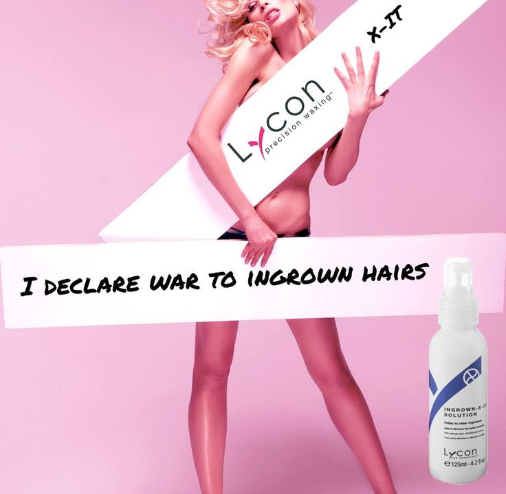 New! Ingrown-X-IT solution in a spray so you can comfortably reach large areas such as the back or chest. #LYCON