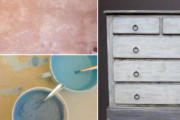*** Peintures : ils ont testé les recettes maison, Esprit Cabane, idees creatives et ecologiques