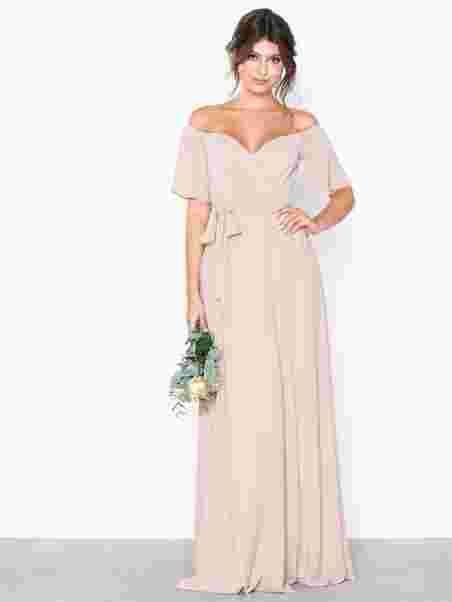 b4da9775 Wrap Wide Sleeve Gown in 2019 | wedding | Gowns with sleeves, Gowns ...