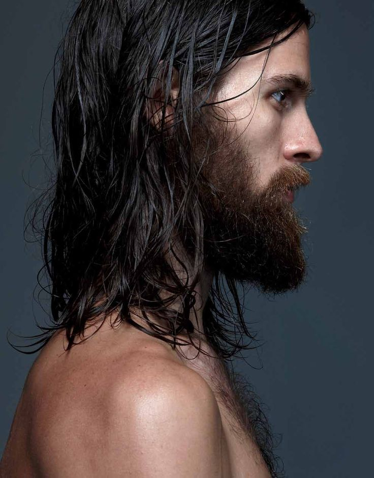 why do I love men with beards and long hair