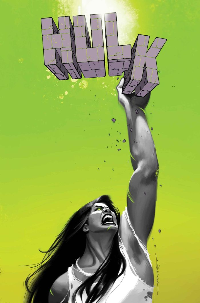 She HULK #3 Cover) By: JEFF DEKAL.