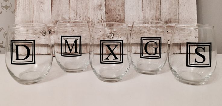 $6 custom work gifts, coworker gifts, bulk gifts, whiskey glass, whiskey glasses, custom liquor glass, liquor glasses, custom wine glasses by FirstClassVinyl on Etsy