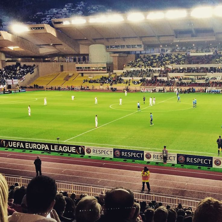 #Fontvieille モナコ公国なう! UEFAヨーロッパリーグ ASモナコVSトッテナム!! トッテナムのサッカーまじ好き! #モナコ #トッテナム #ASMonaco #tottenham #EL #Europaleague #travelalone by pein14 from #Montecarlo #Monaco
