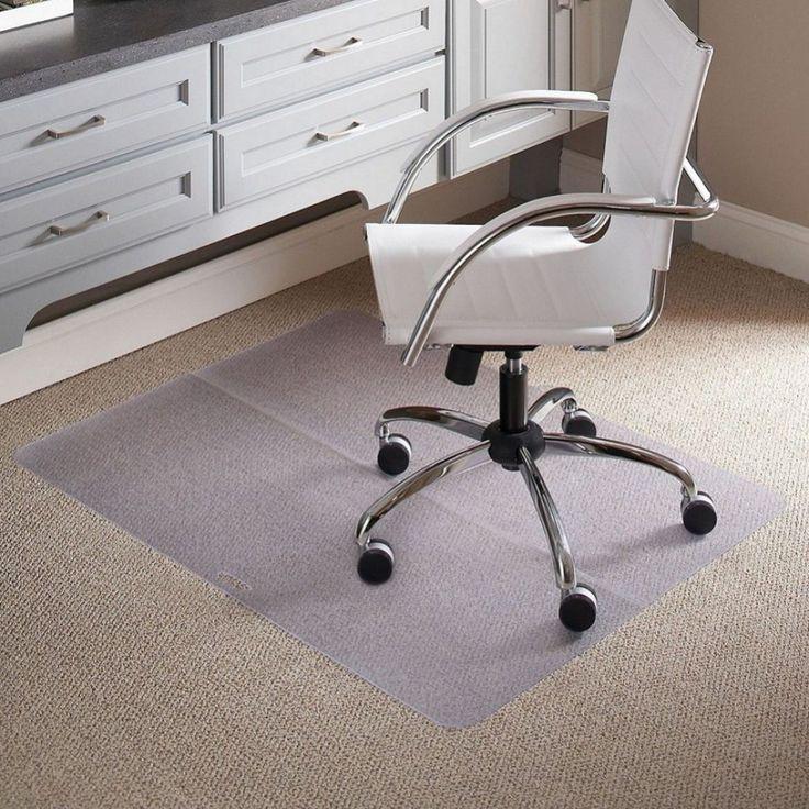 Plastik Fußmatte für den Schreibtisch Stühle home office