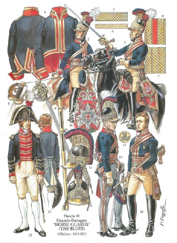 Royal Regiment of Horse Guards (Blues) and 2nd (Royal North British) Regiment of Dragoons