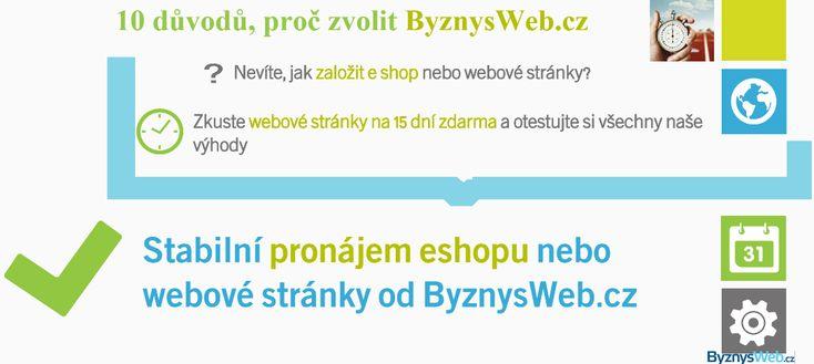 10 důvodů, proč se vyplatí webové stránky, resp. pronájem eshopu od ByznysWeb najdete v naší prezentaci - http://app.emaze.com/1083393/10-duvodu-proc-zvolit-byznyswebcz