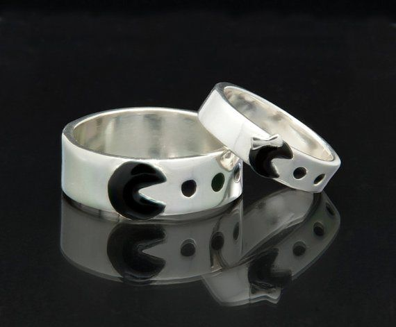 videogames wedding rings