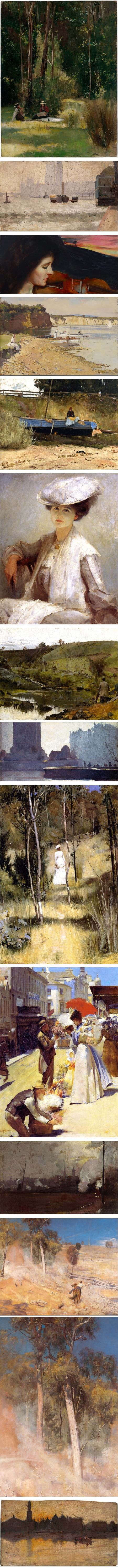 Tom Roberts, Australian Impressionist artist, Heidelberg School