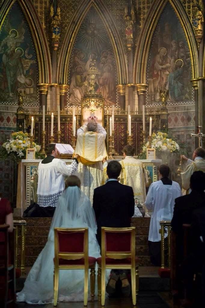 """Introibo Ad Altare Dei """"…For better, for worse: for richer, for poorer; in sickness and in health; to love, cherish, and to obey, till death us do part, according to God's holy law; and thereto I give thee my troth."""""""