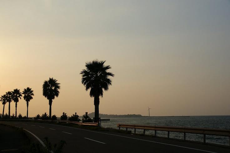 R324・通詞島近く@熊本県天草市