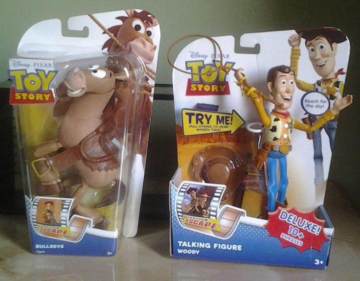 Woody de 19 cm con sonidos y Tiro al Blanco de 18 cm