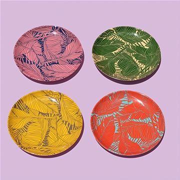 Tropical Dinner Plates